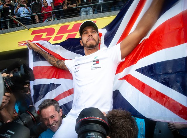 Lewis Hamilton has been awarded with a knighthood