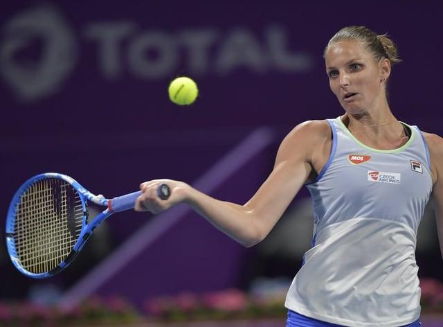 <p>Karolina Pliskova will compete in the Abu Dhabi WTA Women's Tennis Open</p>