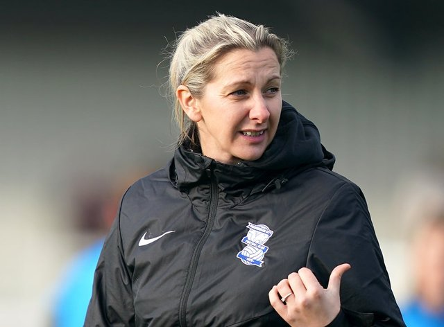 <p>Carla Ward will miss her side's next game in the WSL</p>