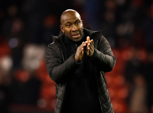 Doncaster boss Darren Moore was full of praise for his side