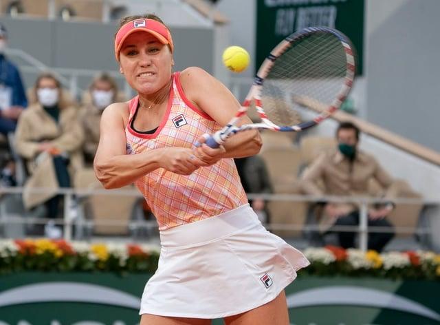 <p>Sofia Kenin will now look ahead to defending her Australian Open title</p>