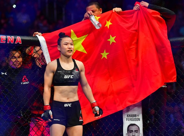 <p>Zhang Weili's UFC title fight to go ahead this year</p>