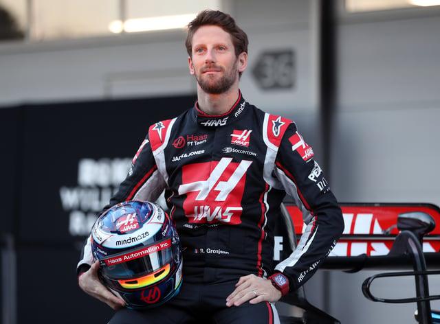 Romain Grosjean has revealed his hands are no longer in bandages
