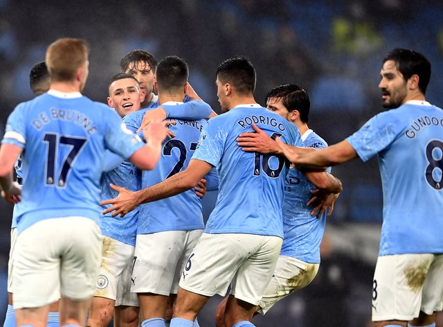 Phil Foden scored the only goal of the game