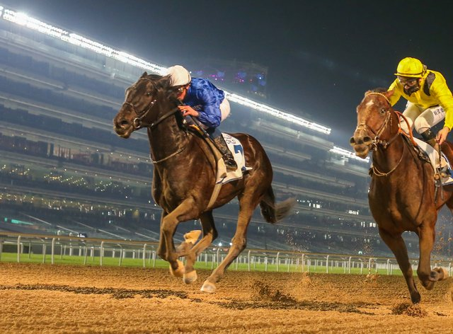 Rebel's Romance confirmed himself a smart prospect with victory in the UAE 2000 Guineas Trial at Meydan