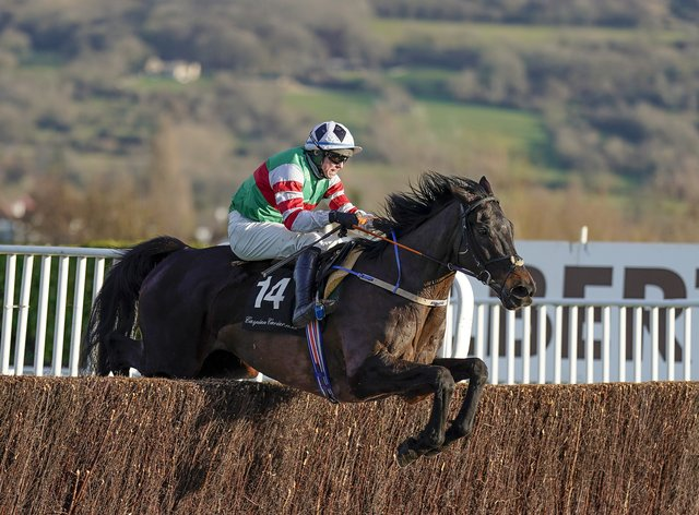 Chatham Street Lad bids to follow-up this impressive win at Cheltenham in the Dan & Joan Moore Memorial Handicap Chase at Fairyhouse