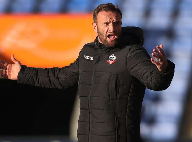 Bolton Wanderers manager Ian Evatt was left frustrated with a point against Cheltenham