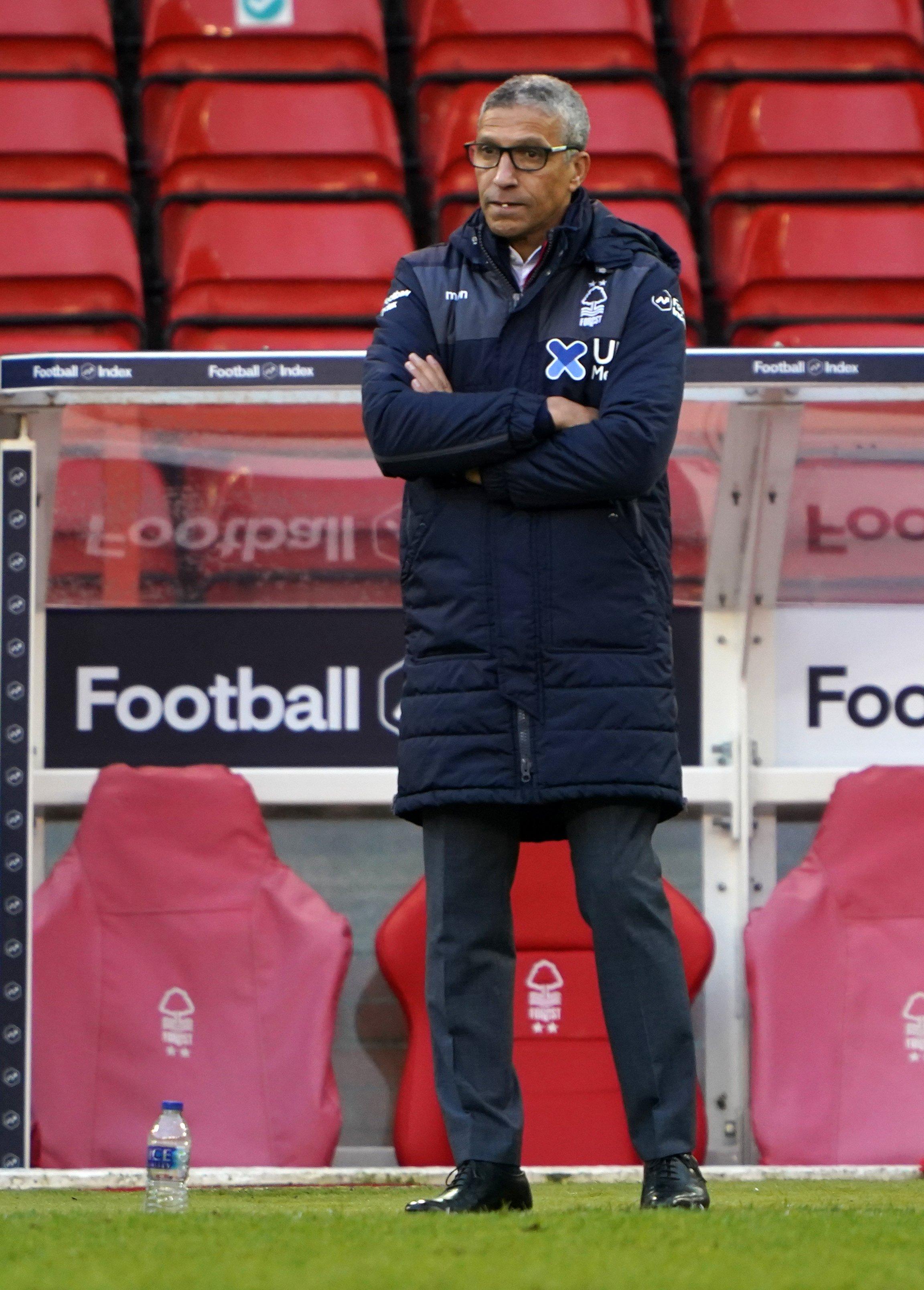 Nottingham Forest boss Chris Hughton has plenty of options at his disposal