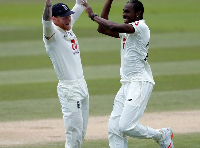 Jofra Archer (right) and Ben Stokes (left) return for England's tour of India