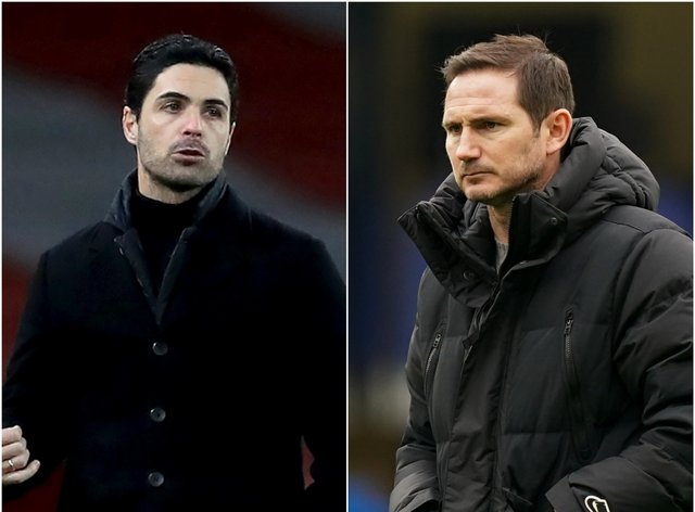 Arsenal boss Mikel Arteta wants Chelsea to give more time to his west London counterpart Frank Lampard
