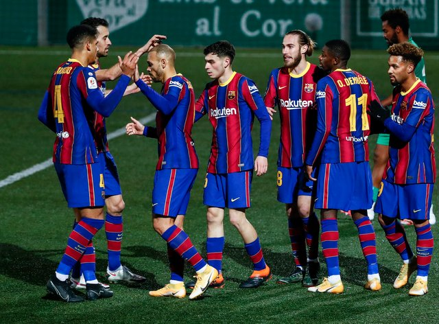 Barcelona were taken to extra-time in the Copa del Rey before squeezing through