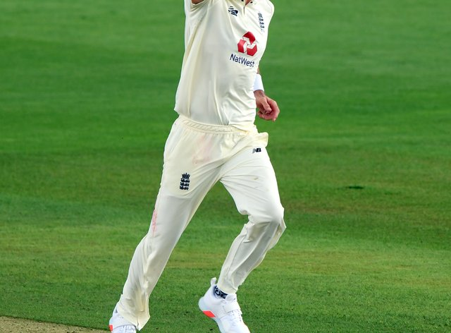 James Anderson took two quick wickets on the first morning in Galle.