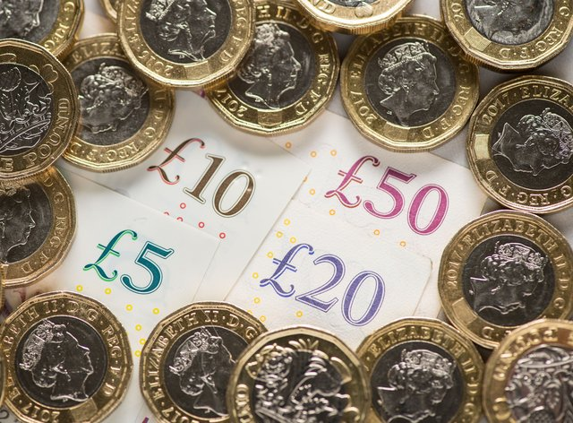 Cash as latest Government borrowing figures revealed