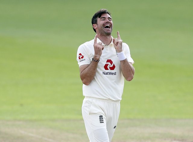 James Anderson returned to spearhead England's attack
