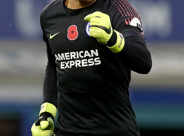 Brighton's Mat Ryan has joined Arsenal on loan until the end of the season.