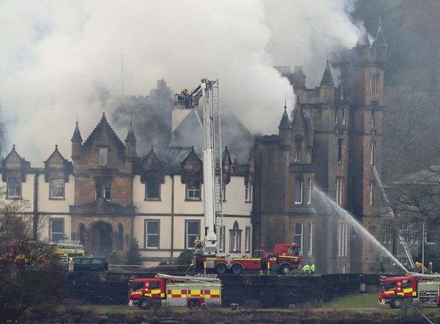 Cameron House Hotel fire