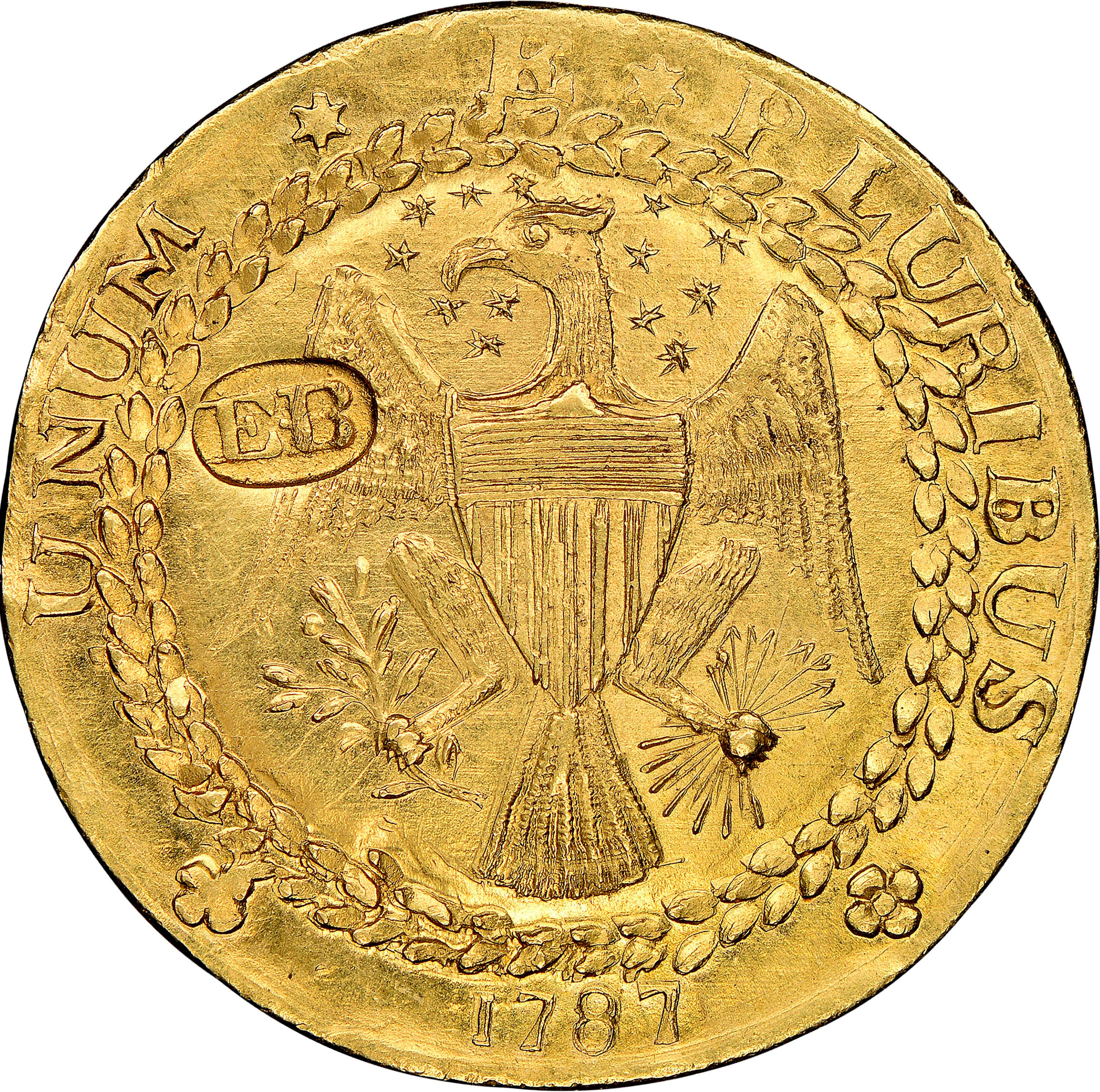 Rare US gold coin dating from 1787 sold for 9m dollars