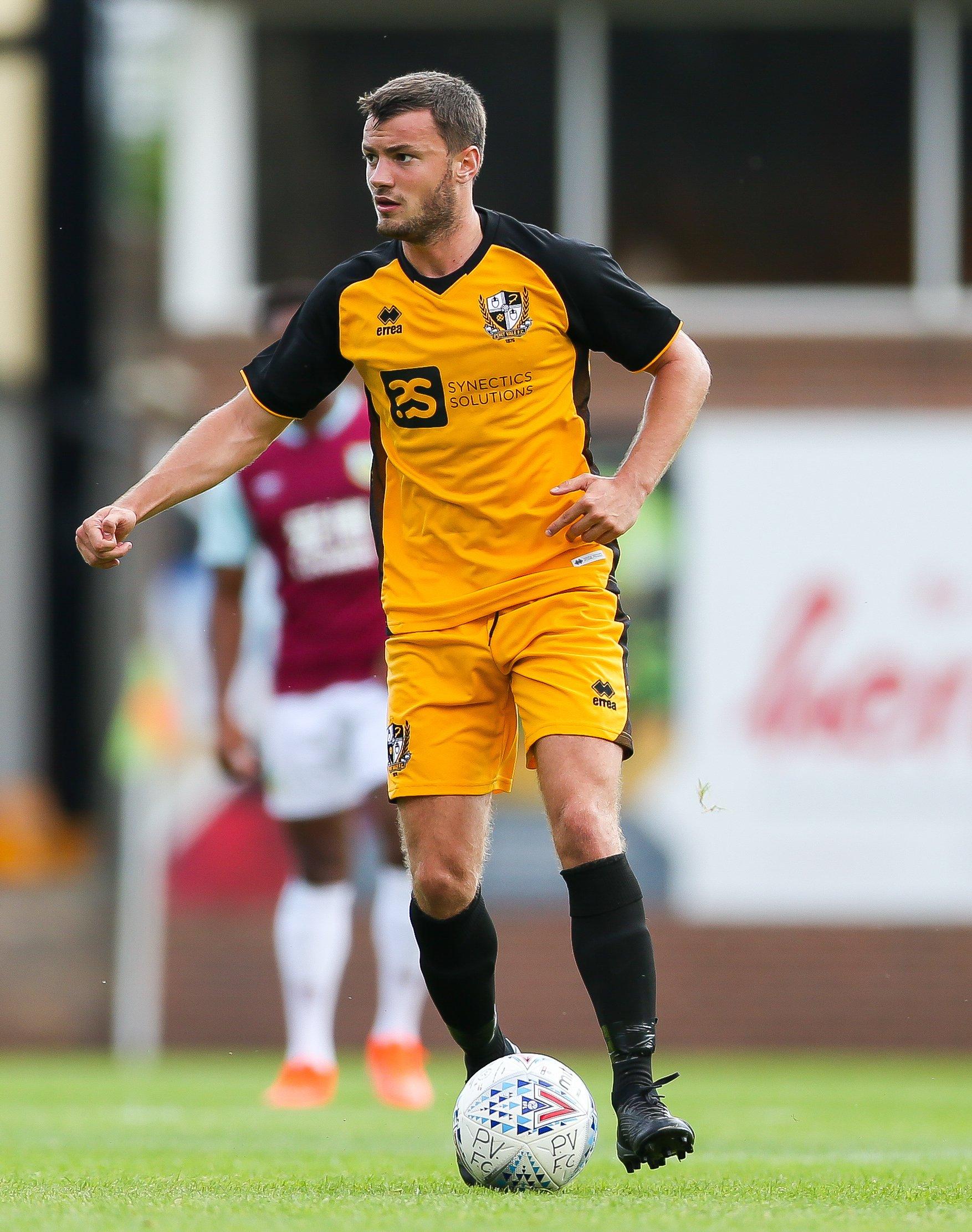 James Gibbons set to return from hamstring injury for Port Vale