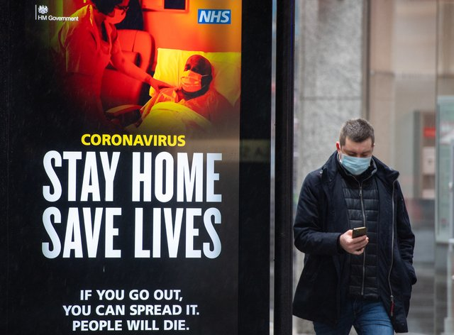 Friday's coronavirus TV advert will mark a shift in tone, the Government said