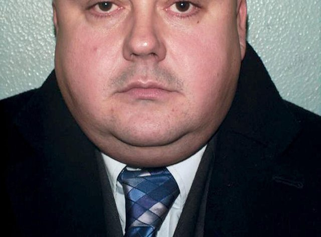 Police identification photo of serial killer Levi Bellfield