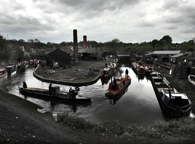 Dudley Canal boats
