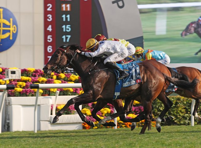 Golden Sixty was made to work to extend his sequence