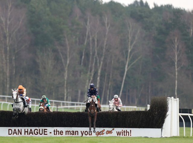 Monday's card at Market Rasen has been abandoned