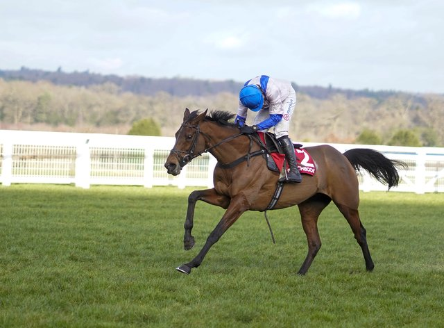Roksana will head straight to Cheltenham after striding to a convincing success at Ascot