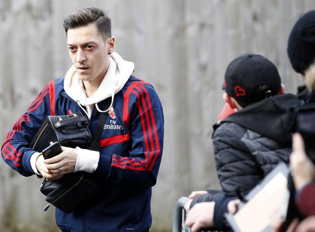 Mesut Ozil has left Arsenal