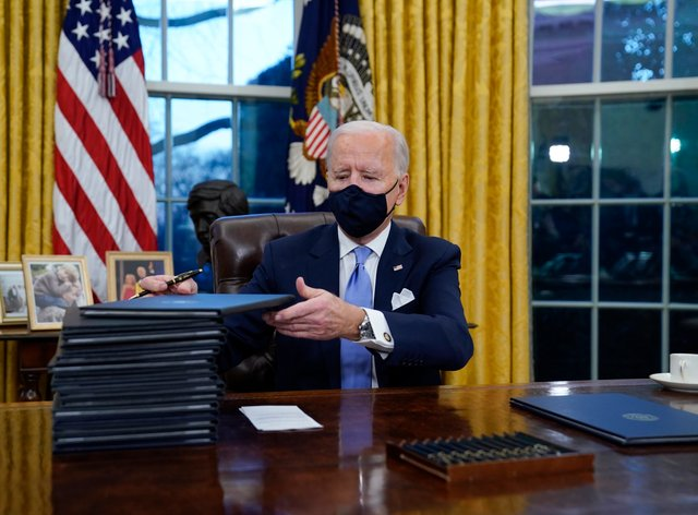 President Joe Biden is expected to overturn the ban