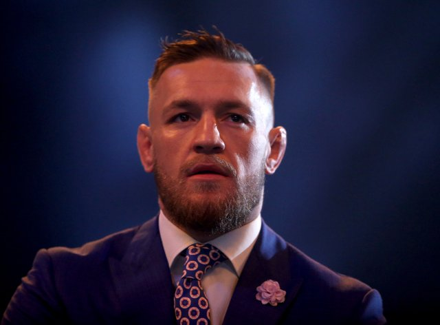 Conor McGregor, pictured, suffered a setback against Dustin Poirier at the weekend (Scott Heavey/PA)
