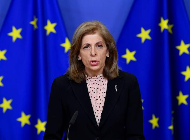 Virus Outbreak Belgium EU