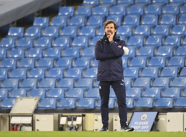 Marseille boss Andre Villas-Boas
