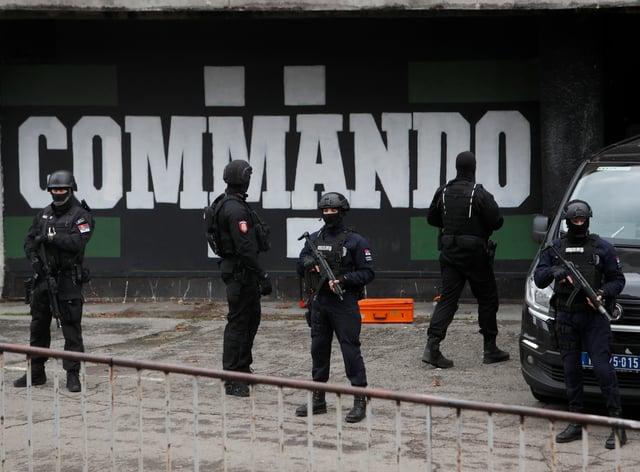 Serbia Hooligans Arrested