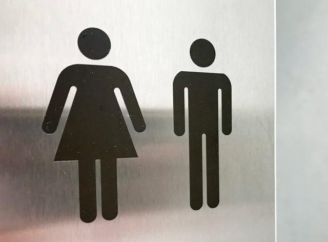Unisex non-binary gender neutral toilets (Martin Keene/PA)