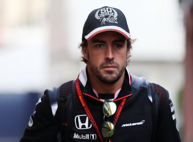 Fernando Alonso has been involved in a cycling accident