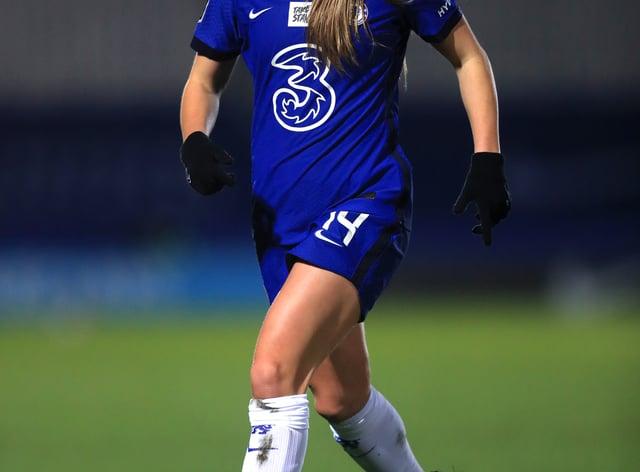 Fran Kirby scored twice in Chelsea's win