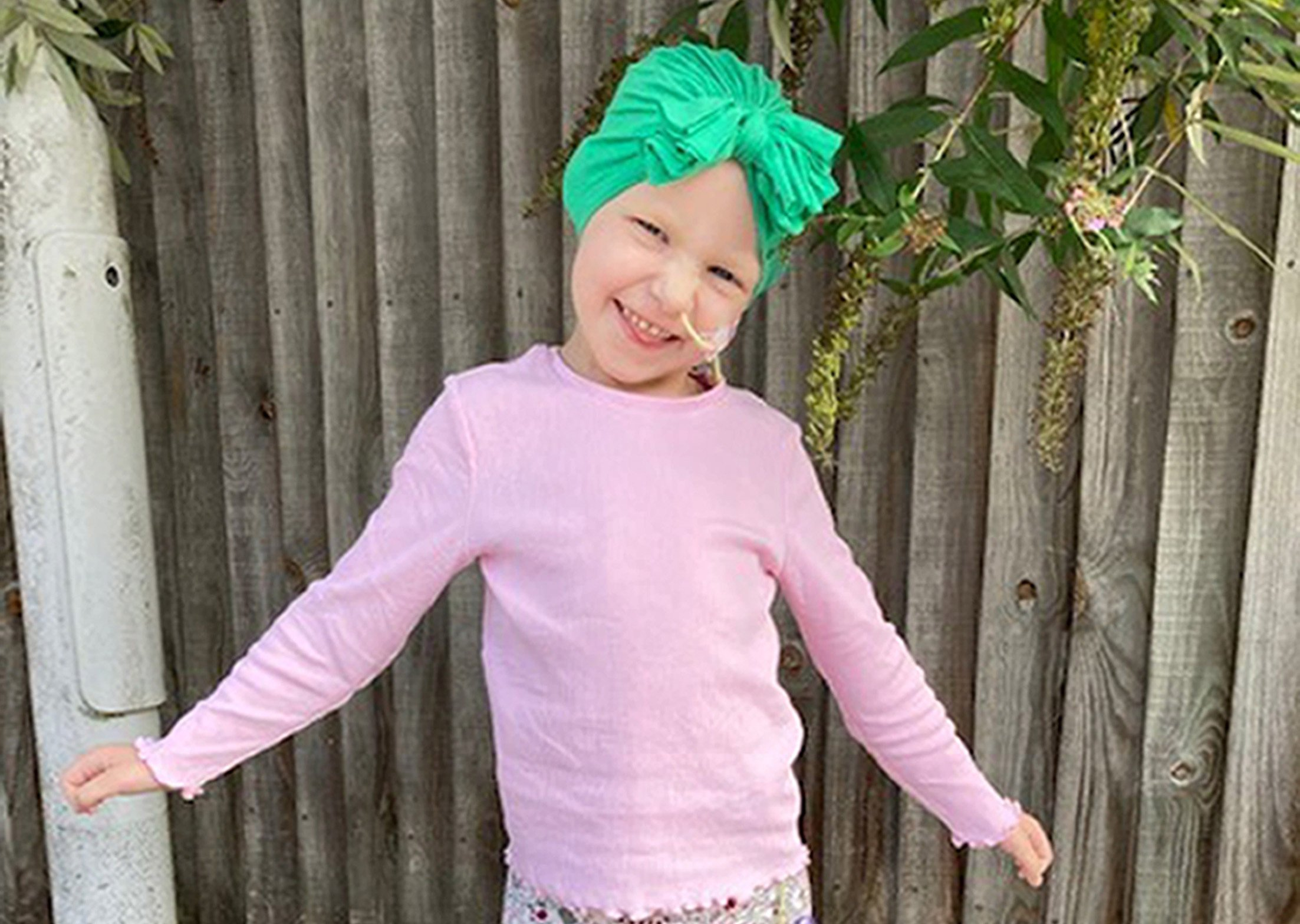 Four-year-old girl has just months to raise £100,000 for cancer vaccine