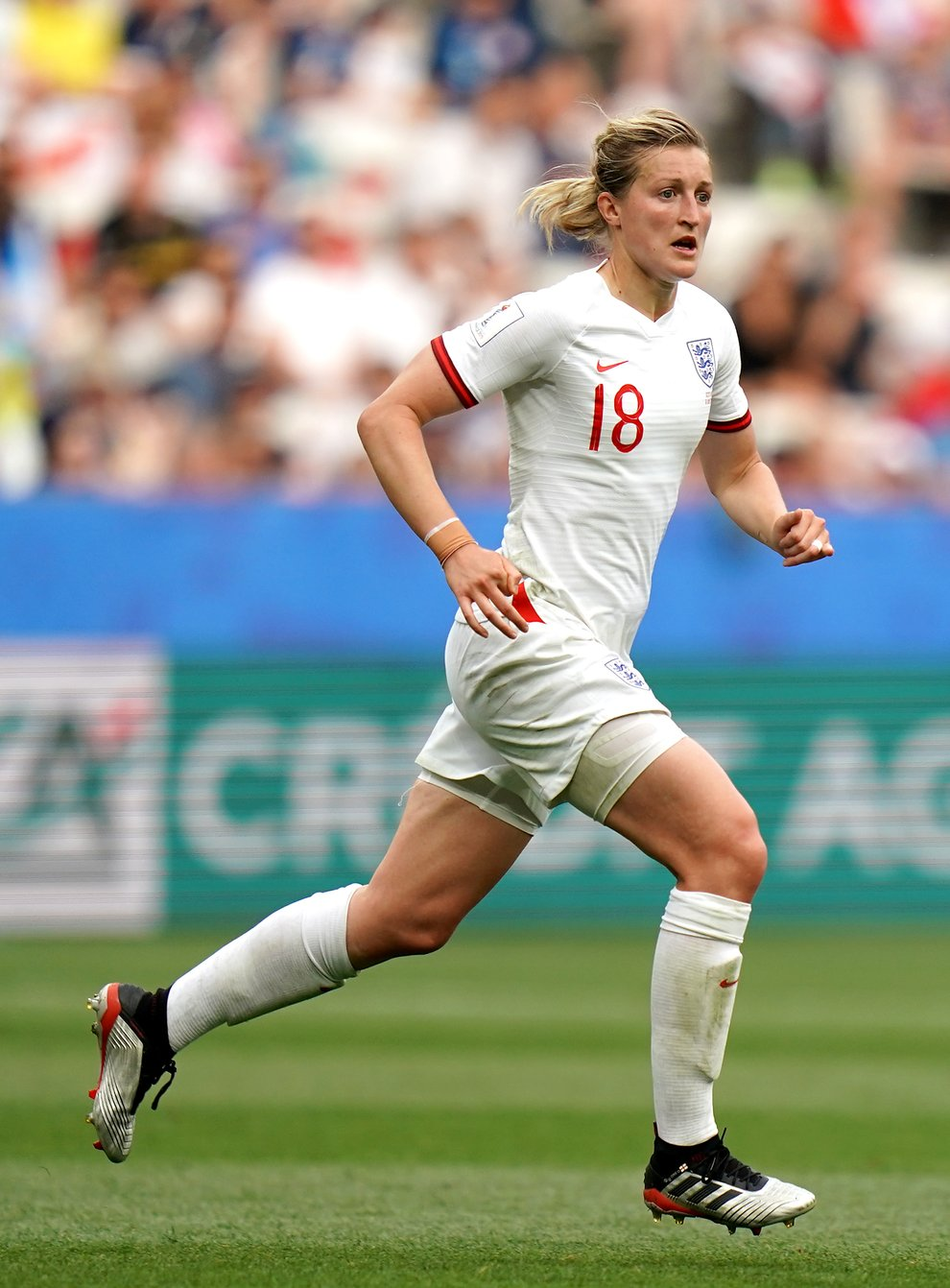 Ellen White is part of England's squad for the friendly against Northern Ireland (John Walton/PA).