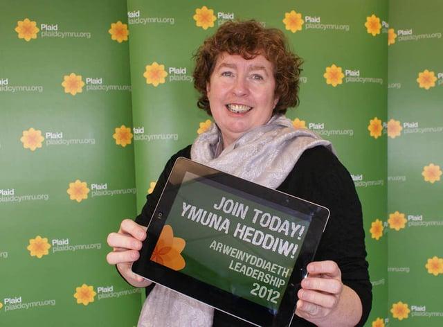 Plaid Cymru MS Helen-Mary Jones