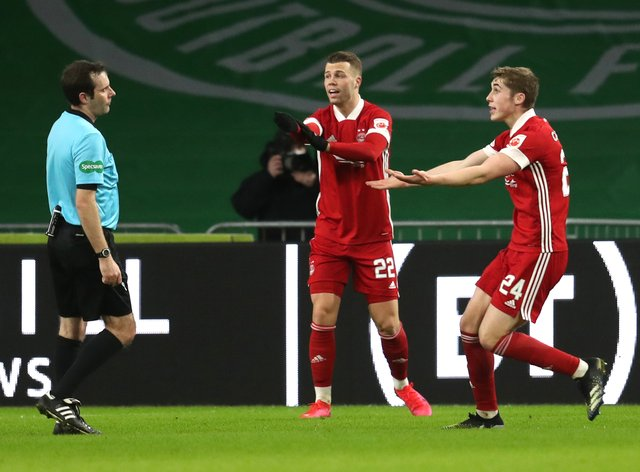 Aberdeen appeal for a penalty