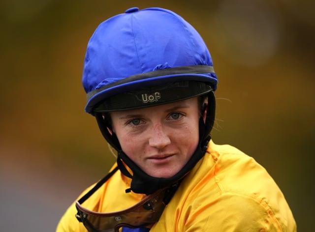 Hollie Doyle is competing in the International Jockeys' Challenge in Saudi Arabia