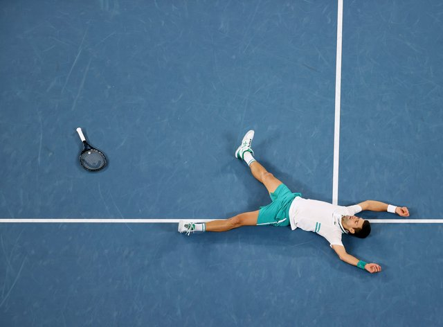 Novak Djokovic cemented his position as the king of Melbourne Park