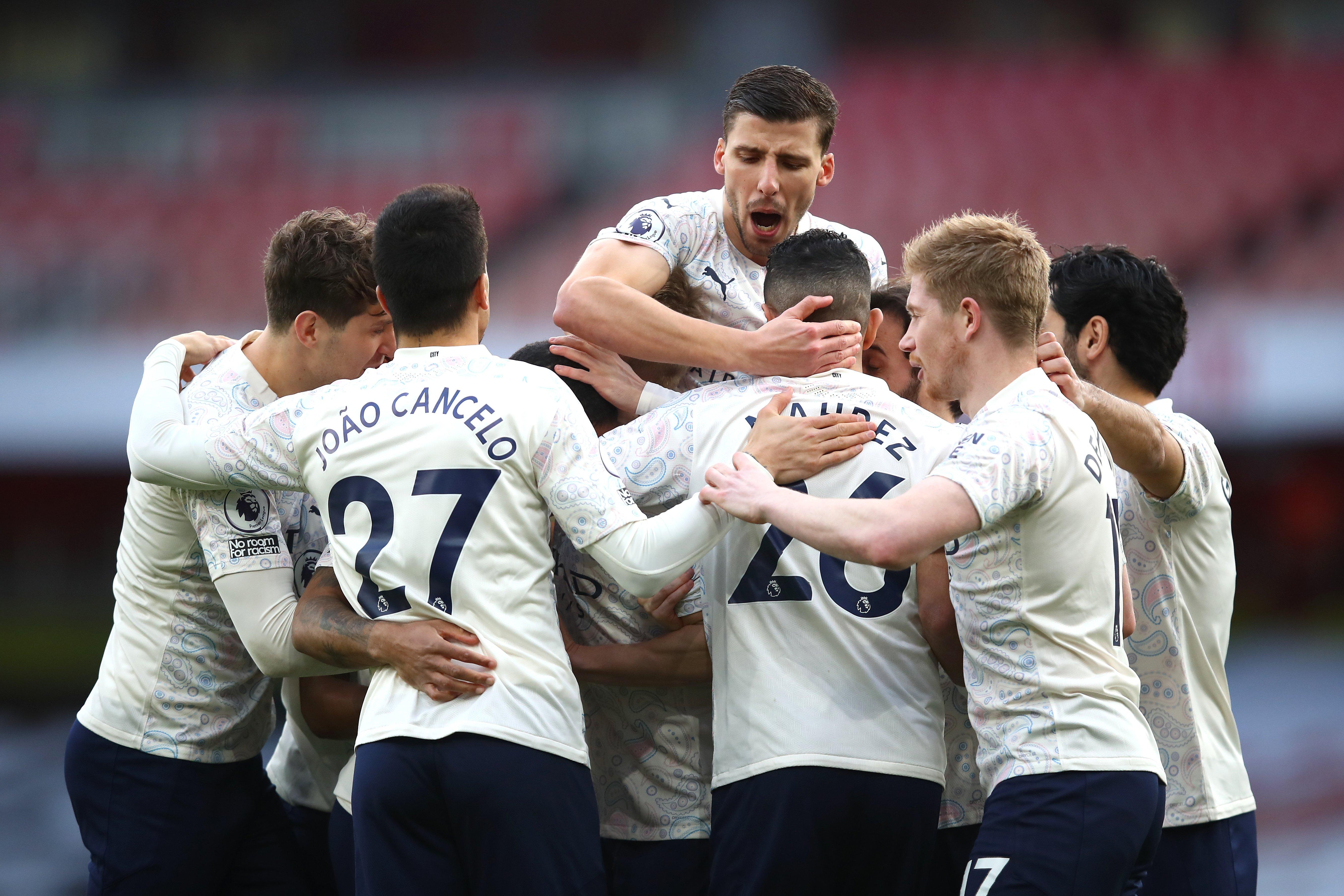 Manchester City's 18-match winning run broken down game-by-game