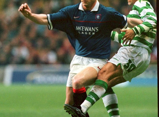 Celtic's Vidar Riseth (right) admits he was left feeling ashamed after Rangers won the title at Parkhead