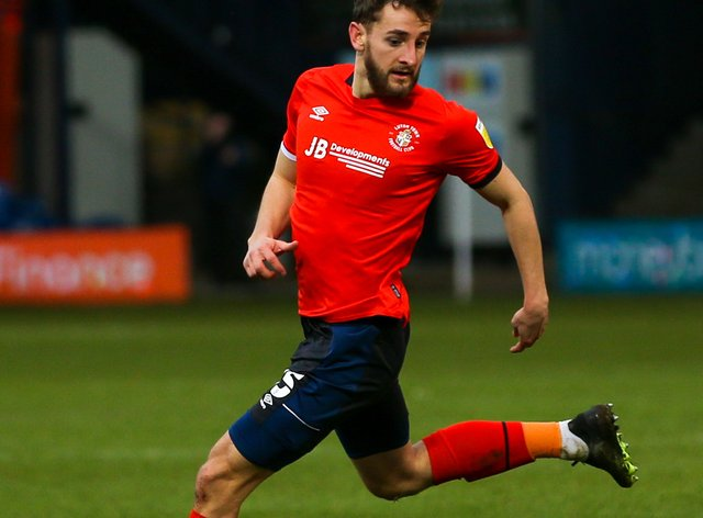 Tom Lockyer will miss out for Luton