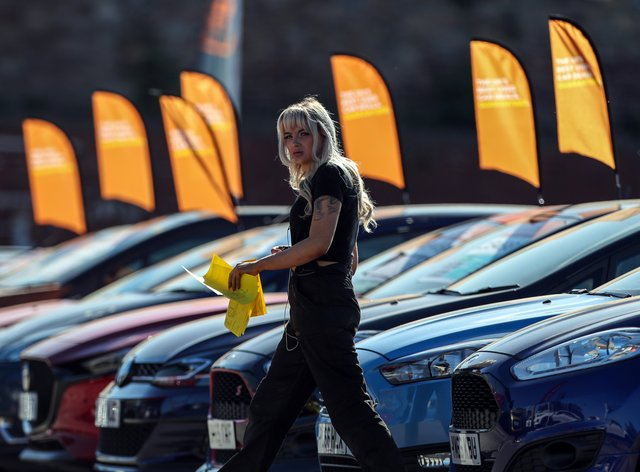 The continuing closure of car showrooms until at least mid-April is 'deeply disappointing', an automotive industry body has said (Peter Byrne/PA)
