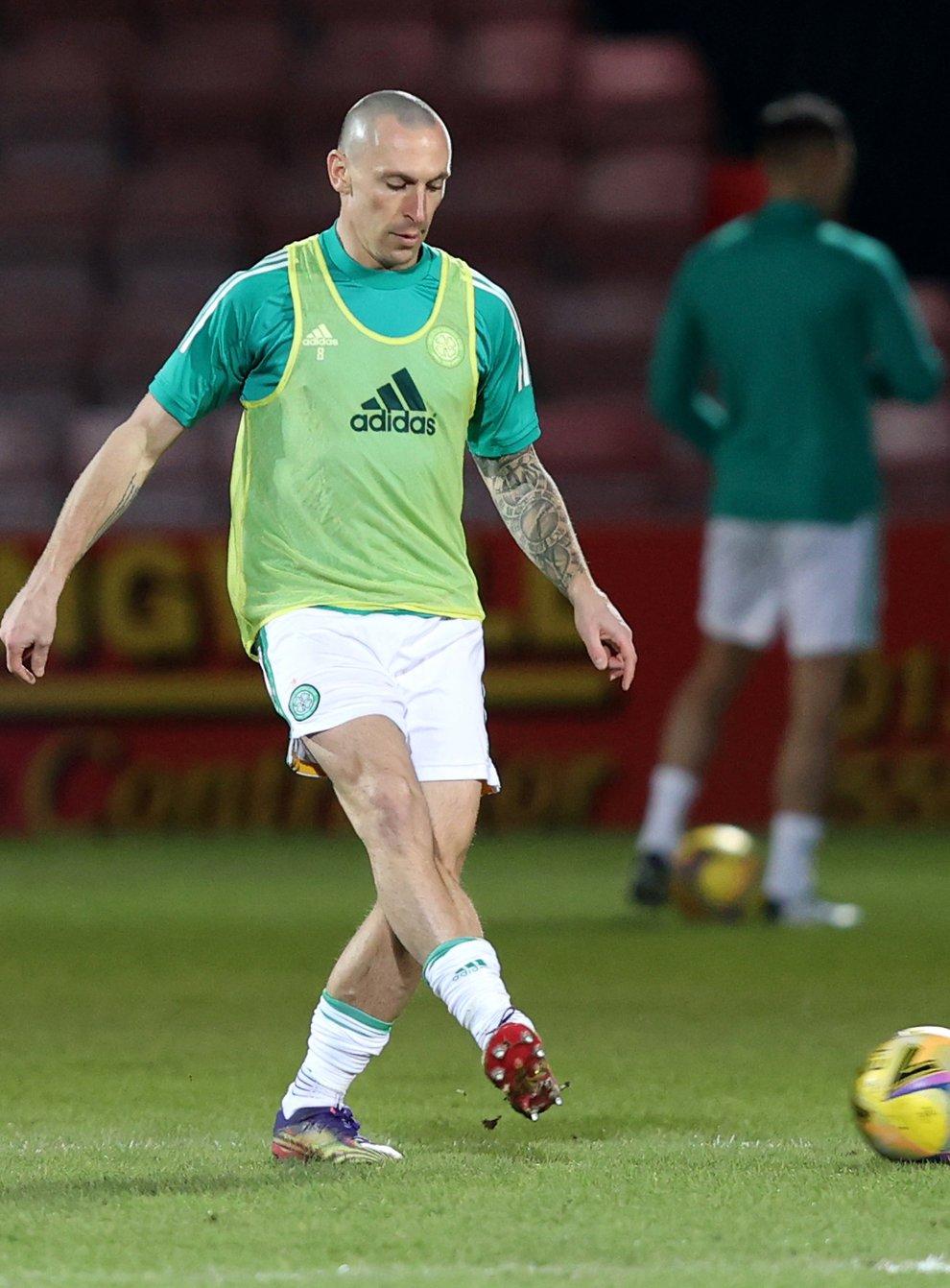 Celtic's Scott Brown is not looking too far ahead (Jeff Holmes/PA)