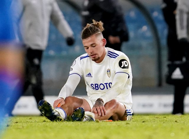 Kalvin Phillips is still out with a calf injury.