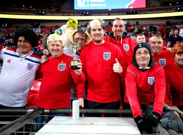 England v Montenegro – UEFA Euro 2020 Qualifying – Group A – Wembley Stadium
